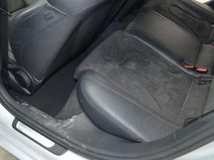 Audi vor der Innenreinigung